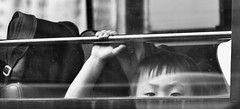 Schoolboy (ROSS HONG KONG) Tags: street leica school boy bw white black bus window 35mm student chinese hong f2 wan schoolboy kongchai m9p