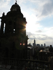Contraluz (BigOwl7) Tags: monument closeup architecture clouds mexico nikon antique colonial churches backlighting nikonp500