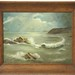 191. Original Seascape Oil Paiting, Signed