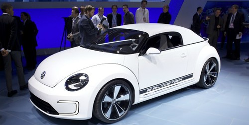 The Volkswagen E-Bugster Concept Car