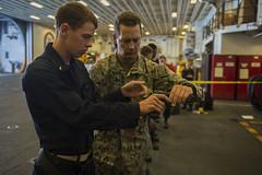 160716-N-TU910-849 (U.S. Pacific Fleet) Tags: california usa marine navy marines raiders lhd ussmakinisland lhd8 sandiegonavalbase meu11 amphibioussquadronfive