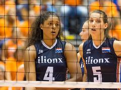17251440 (roel.ubels) Tags: volleybal volleyball nederland oranje holland zuidkorea southkorea rotterdam topsportcentrum sport topsport 2016