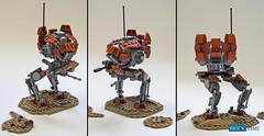 SW_Iltis_Roundup (THE BRICK TIME Team) Tags: lego space walker war star mech warrior scout iltis machine gun minigun