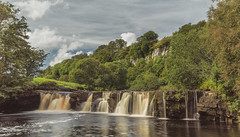 Wain Wath Force - 'Cascades' (mattwalkerncl) Tags: eos 6d landscape yorkshire uk england summer water colour beautiful motion movement hyperfocal lee manfrotto leaves clouds bubbles