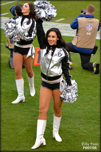 2015 Oakland Raiderette Monica