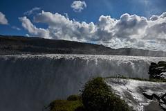 Dettifoss (paolo-p) Tags: islanda iceland dettifoss acqua water cascate waterfalls nuvole clouds