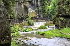 160524_152155_CB_0298 (aud.watson) Tags: europe czechrepublic bohemia decindistrict hrenska riverkamenice kamenicegorge edmundgorge gorge ravine river water rocks rockformation cliffs weir