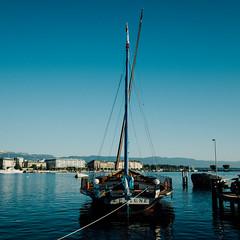 Random # 88 (Alonso Ormeo) Tags: alonsoormeno boat neptune lakescape lake switzerland swiss geneva