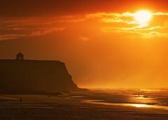 Weary of Earth (Perkvats Havatkov) Tags: castlerock beach sunset shore coast mussenden eosm