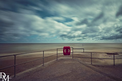 Mundesley 10 (davemoly17) Tags: davidmolyneuxphotography sea seaside beach beachhuts coast sand groynes waves water mundesley norfolk lifeboat sunny canon eos 1100d sigma wideangle