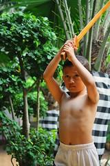 Keep Learning (budiwicaksono90) Tags: sword highlander pedangkayu wood pangeran brave pedang kayu blade sabre child children photo photography anak wooden bermain learn practice belajar olahraga sport latih