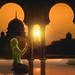 Female muslim praying