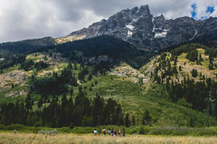 Small People, Big Mountains (skubba221) Tags: nationalaprk nationalpark grandteton grandtetonnationalpark hike hiking mountains landscape