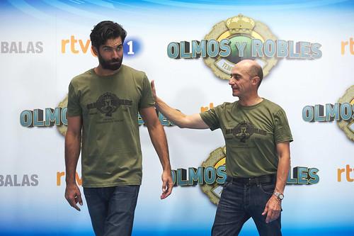 """Rubén Cortada presenta """"Olmos y Robles"""" en el FesTVal de Vitoria"""