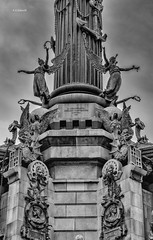 Statua Cristoforo Colombo Barcellona (Emanuele Stifanelli) Tags: architecture scultura sculture statua colonna barcellona barca barcelona rambla stradedinapoli spain spagna emanuelestifanelli stiflele nikon nikond3200 d3200 nikkor nikkor50mm18g 50mm18g 50mm nikonflickraward flickrtravelaward
