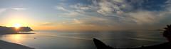 PANORAMA 452 (anyera2015) Tags: ceuta canon canon70d panorama panormica playa chorrillo amanecer