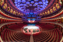 Royal Albert Hall - Open House 2016 (DSC08121) (Michael.Lee.Pics.NYC) Tags: london england unitedkingdom royalalberthall openhouse 2016 architecture arena sony a7rm2 rokinon12mmf28 fisheye