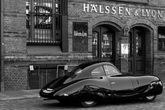Berlin-Rom-Wagen (michael_hamburg69) Tags: hamburg germany deutschland speicherstadt pickhuben hlssenlyon classiccars oldtimer auto car berlinromwagen sportwagen 1939 rennwagen volkswagen porsche vwtyp60k10 porschetyp64