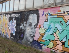 'Mijn Michael' (bcbvisser13) Tags: graffiti mijnmichael rouwverwerking michaelspecht muur rijnkade woerden provutrecht nederland eu