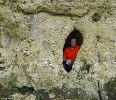 Trou dans la falaise - Bord de la Furieuse - Jura (francky25) Tags: trou dans la falaise bord de furieuse jura franchecomt doubs karst