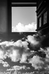 Window V (Olivier Moges) Tags: windowsstory windowv blackwhite blackwite doubleexposure doubleexposition experimentation hicontrat dark monochrom multipleexposures oliviermoges oliviermogs photography