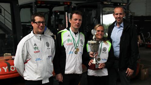 Siegerehrung beim Sommer-Biathlon des Schützenkreises Bad Zwischenahn.