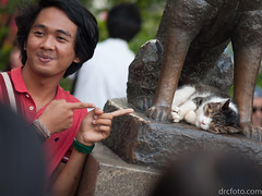 Hachiko, the faithful Akita (David R. Crowe) Tags: animal canidae cats felidae mammal nature sculpture tokyo japan