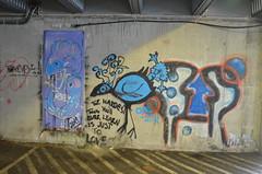 Leirvik Graffiti (svennevenn) Tags: gatekunst streetart leirvik stord birds fugler fisk fish