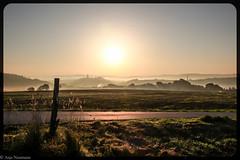 misty autumn sunrise (asm_naumann) Tags: autumn fall herbst countryside rural mist misty sunrise earlymorning morning path frankenberg hessen nordhessen germany europe rddenau