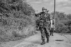 FJR5-13 (Andy Darby) Tags: bosworthfjr5 bosworth battlefield railway battlefieldrailway fjr5 fallschirmjager german reenactment uniform k98 mg42 ppsh41 marching war andydarby