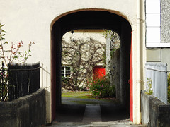 Red Door, Birr, Ireland (uk_dreamer) Tags: red door arch abstract arty birr ireland
