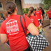 MOVStudent volunteers carry other students' gear up to their residence hall during Friday's move-in.EIN.2012.1308