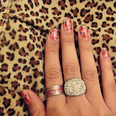 53/94. (Anne Brighter) Tags: hand fingers rings nails nailart artnails