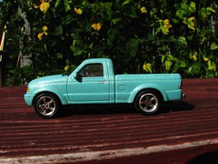 A FORD RANGER PICKUP IN 1/43 SCALE (richie 59) Tags: stremy ulstercounty ulstercountyny stremyny ford fordtruck aug2012 fordmotorcompany 143scale 143 1990strucks diecastautos aug112012 ranger diecastvehicles 2012 fordranger fordpickuptruck chromewheels 1990struck 2door america americantruck americanpickuptruck automobile bluetruck diecast diecastcollection diecastford diecasttruck hudsonvalley midhudsonvalley miniaturecars modeltruck mydiecast newyorkstate nystate oldford oldfordtruck oldpickuptruck oldtruck outside backyard pickup pickuptruck repainted repainteddiecast richie59 sideview summer toy toytruck toytrucks truck twodoor unitedstates us usa ustruck vehicle
