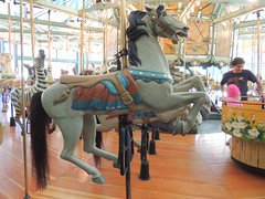 1911 Herschell-Spillman Carousel Horse, Tilden Park (Jafafa Hots) Tags: park horses horse animals amusement ride carousel merrygoround chariot carrousel tilden tonawanda menagerie ebparksok jafafahots