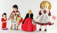 2038. Group of (4) Madame Alexander Character Dolls