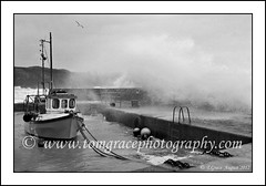 3268    Boat Strand in the Storm 15th August 2012 (jonestown_pic /Tom GracePhotography.com) Tags: ireland sea storm rain strand boats coast boat sand waves wind waterford kilfarrasy carrickcameraclubmember wwwtomgracephotographycom