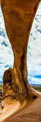 [Group 3]-VAC120706_8656_VAC120706_8661-6 images (LDELD) Tags: utah moab underneath verticalpanorama wilsonarch