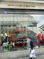 Venues Beneton Window London 2012 Olmpics Oxford Street London 14th August 2012 13:16.07pm (dennoir) Tags: street london window august oxford 14th 2012 venues olmpics beneton 131607pm