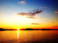 Sunset from Karklö