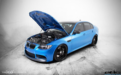 360Forged BMW M3 Estoril Blue (360 Forged) Tags: blue sexy studio bmw m3 luxury cf matte eas topspeed spec5 360forged