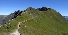 Vom Schartl zur Frauenwand (bookhouse boy) Tags: mountains alps tirol berge alpen tyrol 2012 hintertux tuxertal kaserer frauenwand kasererschartl sommerbergalm kleinerkaserer weisewand 19august2012