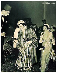 HRH Princess Fawzia Attending a Charity Event - Cairo In 1940's (Tulipe Noire) Tags: africa charity princess egypt middleeast event 1940s egyptian fawzia