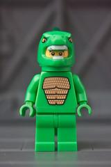LEGO Series 5 Lizard Man 1 (carlo_montoya) Tags: brick toy lego legominifigure buildingblocks lizardman buildingtoy educationaltoy legoseries5