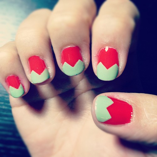 Strawberry nails forever