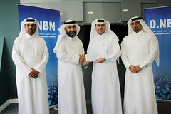 Qnbn Supports Qatar Charity's Iftar Banquets