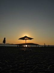 Antiparos (oue) Tags: sunset sea beach canon island mediterranean greece cyclades antiparos  eikones elladas