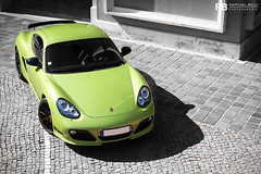 Hulk (Raphal Belly) Tags: verde green car french photography eos riviera photographie photoshoot metallic vert montecarlo monaco mc belly exotic r porsche 7d passion cayman carlo monte raphael fontvieille rb supercar spotting supercars peridot raphal hliport pridot