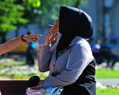 do not smoke!!! (gianluigi storto) Tags: donna women smoke forbidden fumo dito sigaretta turchia vietato gesto minaccia mygearandme