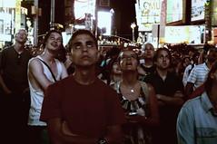Curiosity on Mars (MyTubeNYC ( Gediminas Jankevicius )) Tags: street city nyc people mars newyork night time nasa timessquare curiosity mytubenyc
